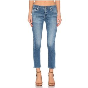 Citizens of Humanity Agnes Mid Rise Straight Crop size 24